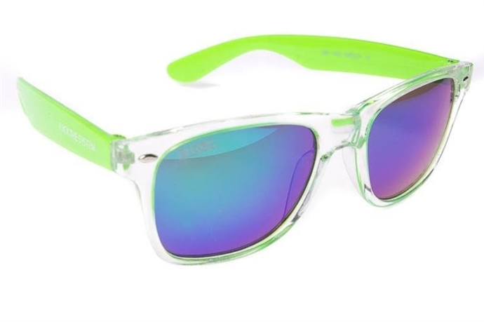 Blocx Okulary FreeStyle Clear X Green #11