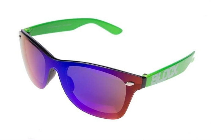 Blocx Okulary Oneglass Green Mirror Blue #27