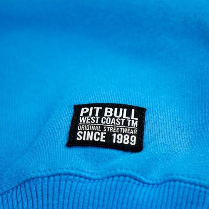 Bluza z kapturem PITBULL SAN DIEGO DOG royal blue