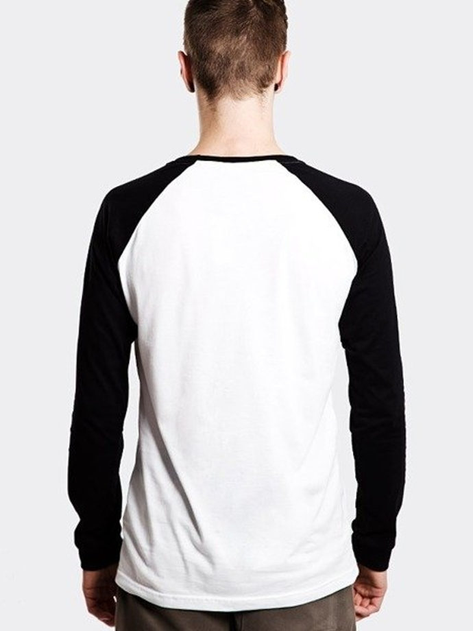 Longsleeve Storpocent TAG17 white/black