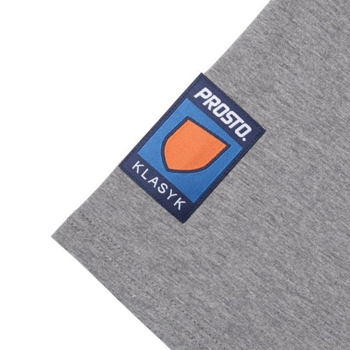 T-shirt Prosto cubic grey