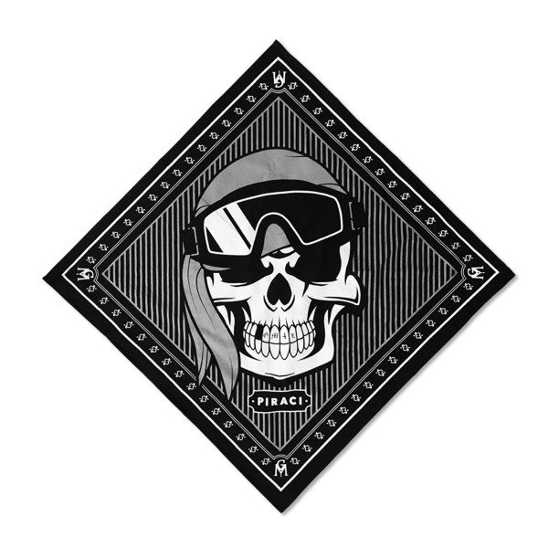 kupować tanio sklep w Wielkiej Brytanii super słodki Bandana Ganja Mafia Piraci black