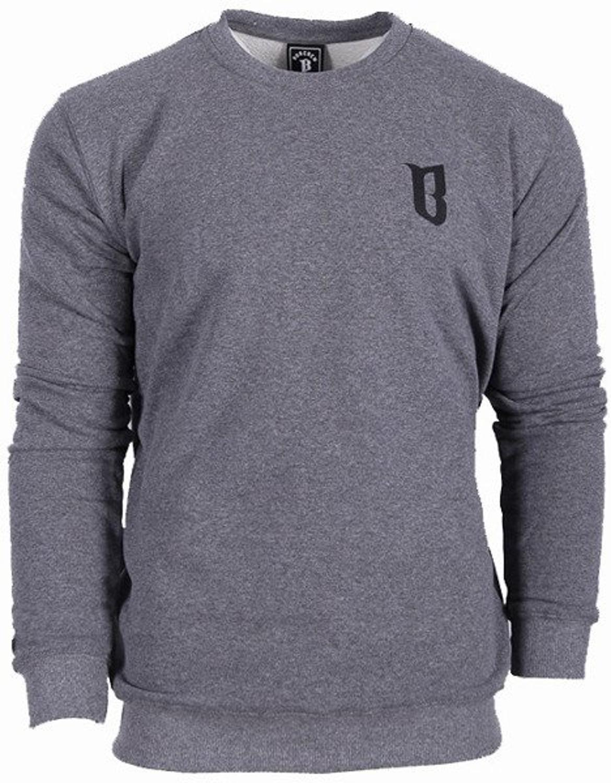Data wydania złapać niesamowity wybór Bluza bez kaptura BOR Borcrew crewneck dark grey