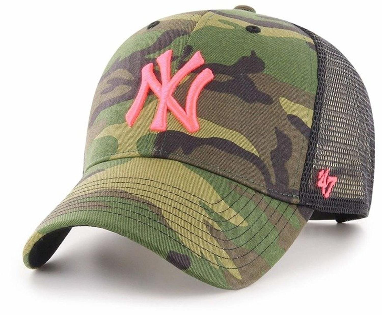 429673c6597 Czapka z daszkiem 47 Brand MLB Trucker New York Yankees camo - Producent  47  Brand - Cena  - CZAPKI LATO - Sklep internetowy Patshop