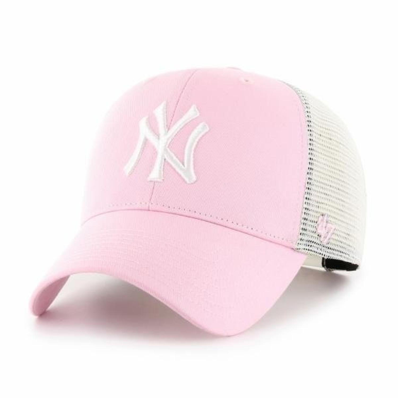 Czapka z daszkiem 47 Brand New York Yankees trucker pink