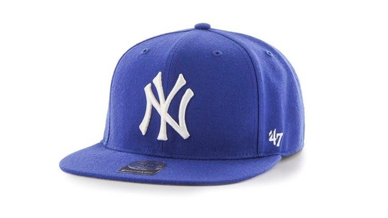 the latest 9b390 4a1cd Czapka z daszkiem 47 Brand Youth MLB New York Yankees blue - Producent  47  Brand - Cena  - CZAPKI LATO - Sklep internetowy Patshop.