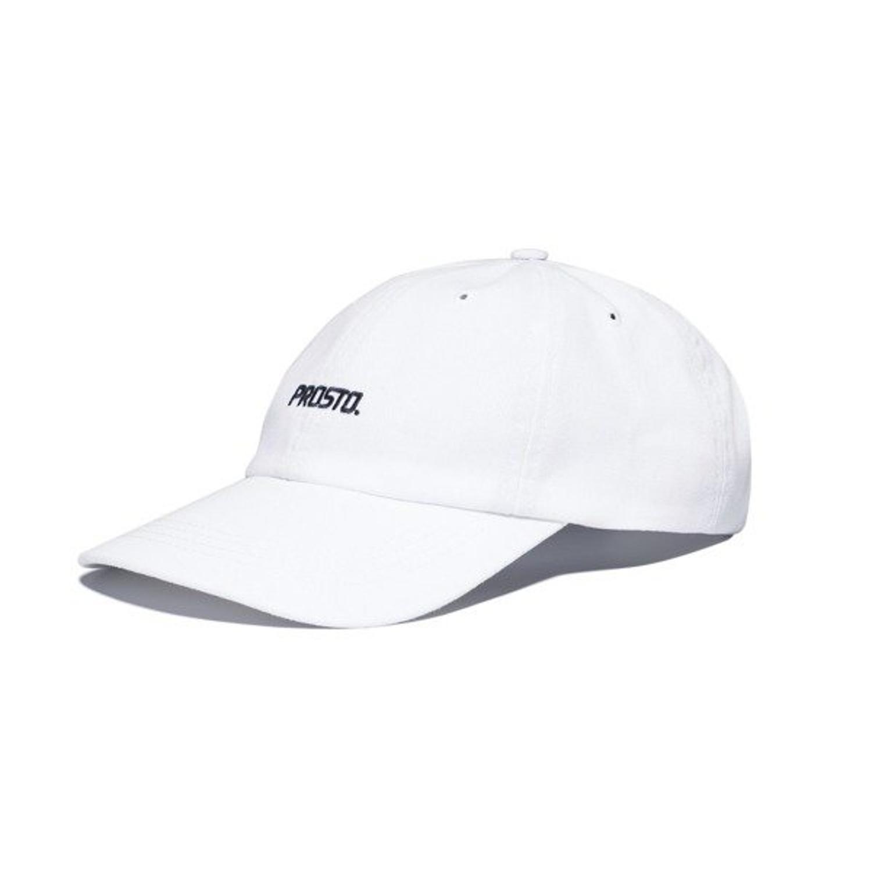 oficjalny sklep klasyczny sprzedaż Czapka z daszkiem Prosto Klasyk 6 Panel Logo white