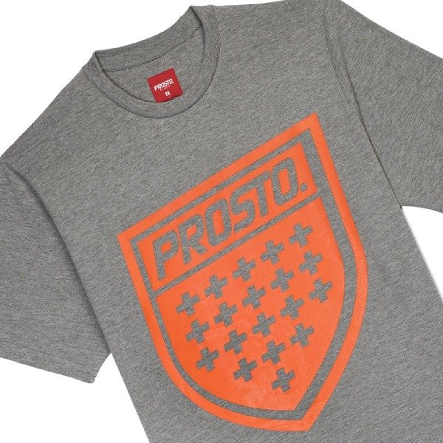 aed9e3686cf64 Koszulka T-Shirt Prosto Klasyk Shield XIX concrete grey - Producent ...