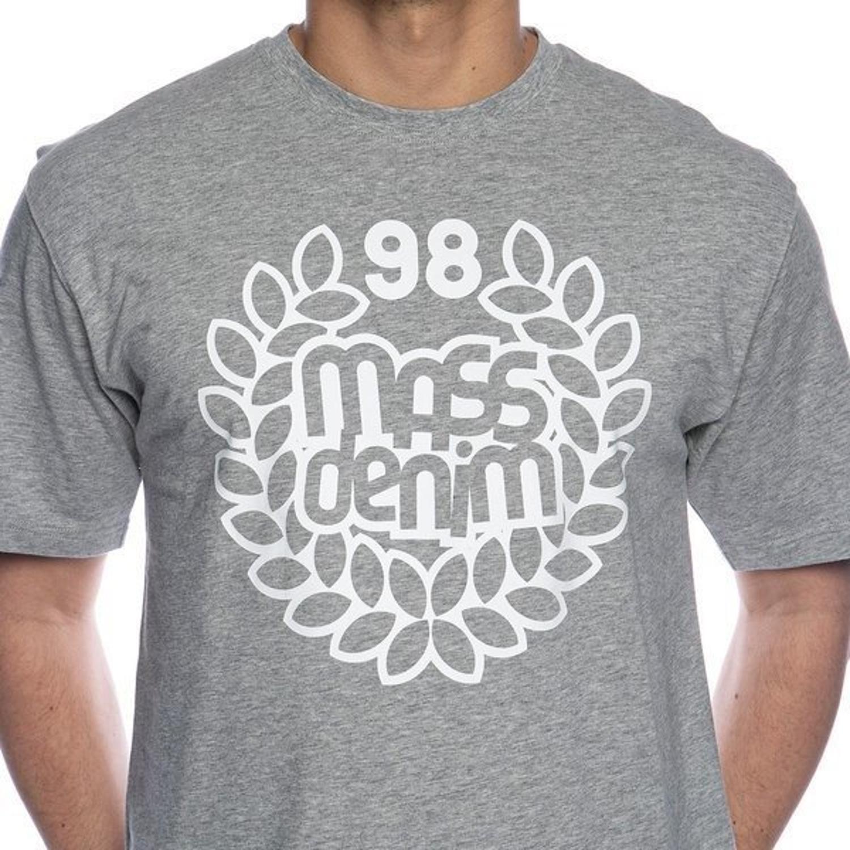 Koszulka t shirt Mass Dnm Base grey