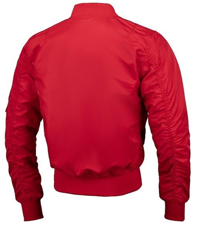 Kurtka wiosenna Pit Bull MA 1 Flight bomberka jacket red