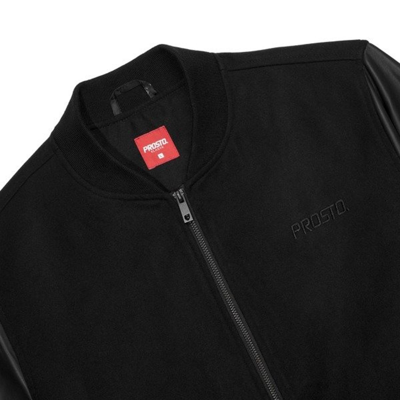d1dfb3832ed4c ... Kurtka wiosenna Prosto Klasyk Baze baseball jacket black Kliknij, aby  powiększyć