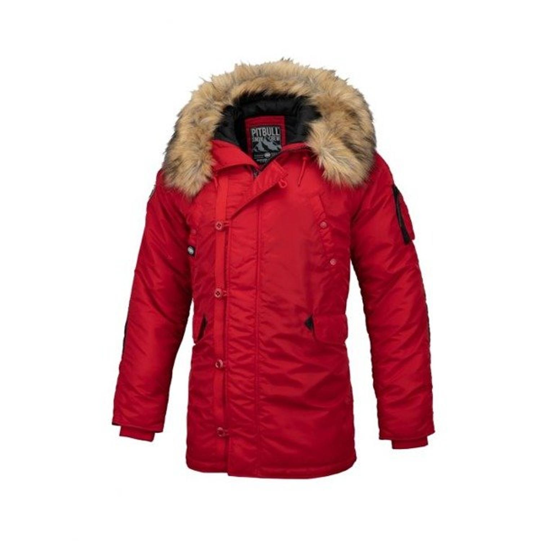Kurtka zimowa Pit Bull Alder Fur parka red