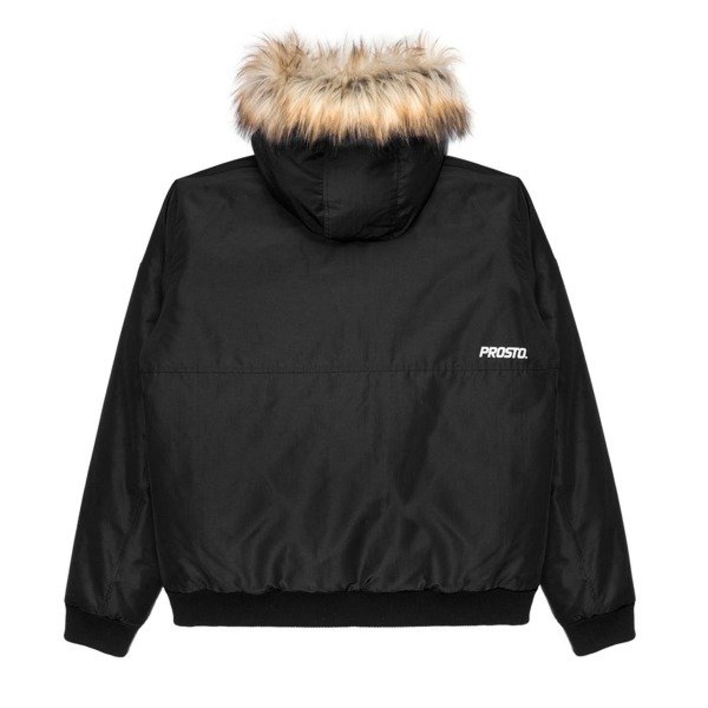 urok kosztów Darmowa dostawa bardzo tanie Kurtka zimowa Prosto Klasyk Eskimo Bomber black