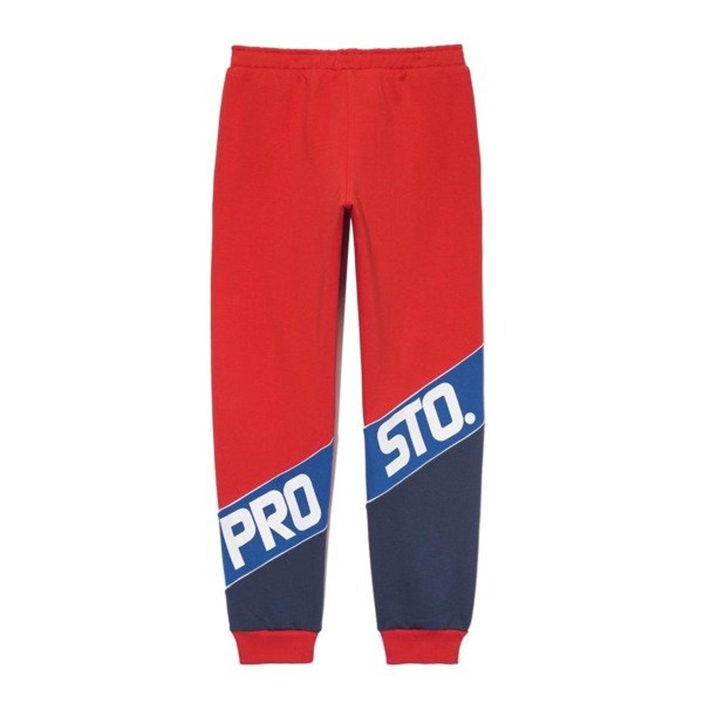 wyprzedaż w sprzedaży kup najlepiej wylot Spodnie Prosto Dresowe Slant Calf Red