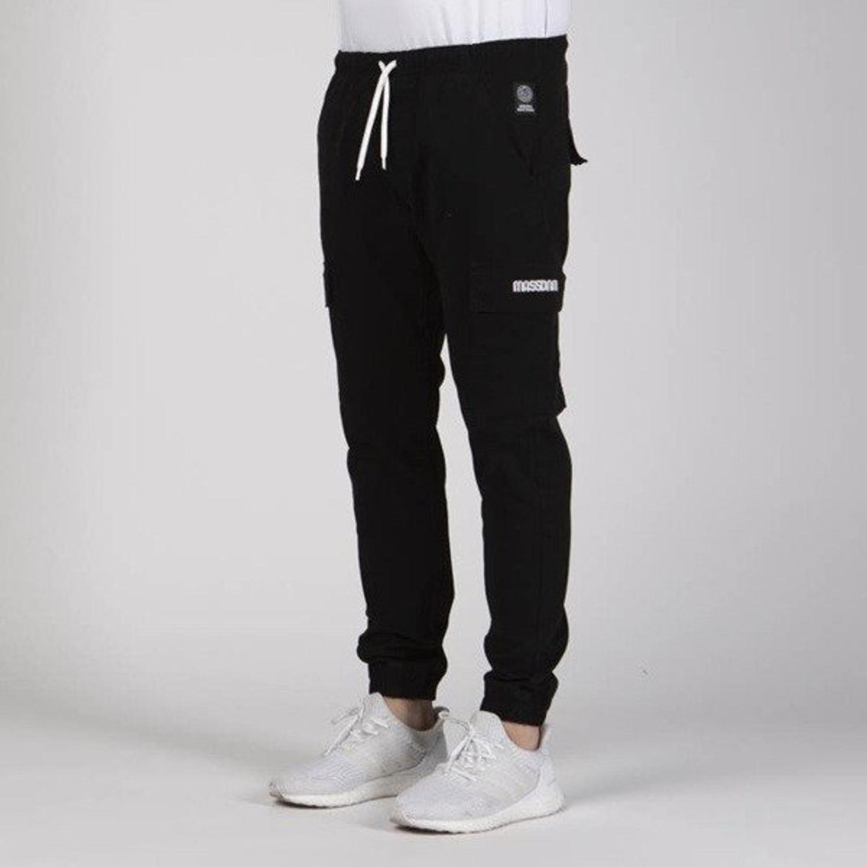 Spodnie jogger Mass Sneaker Fit Cargo black