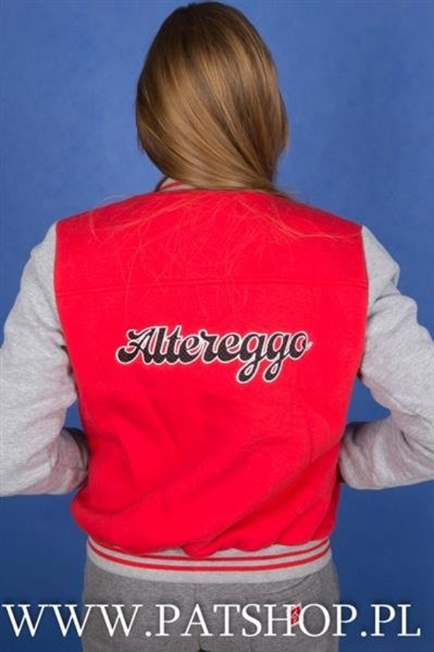 AlterEggo Baseball Damski Red Grey
