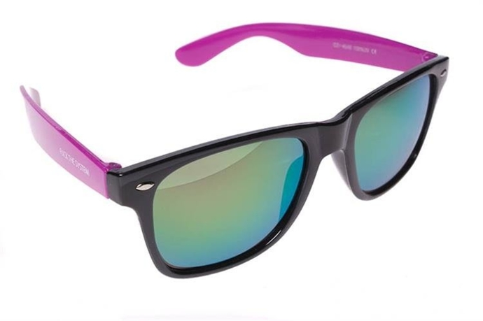 Blocx Okulary Black X Purple Mirror #29