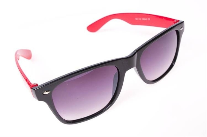 Blocx Okulary Black X Red #46