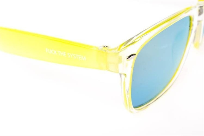 Blocx Okulary Clear X Lemon #44