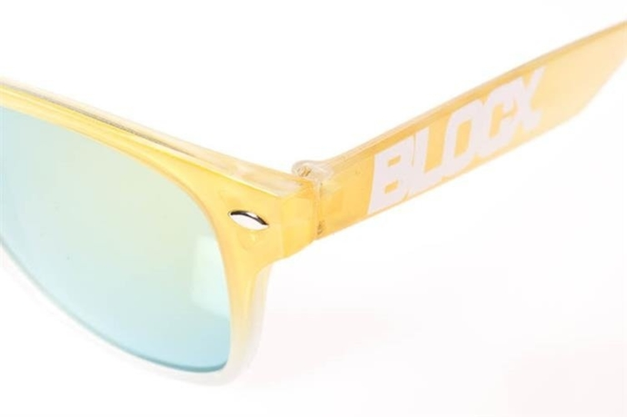 Blocx Okulary Gradient Yellow White #19