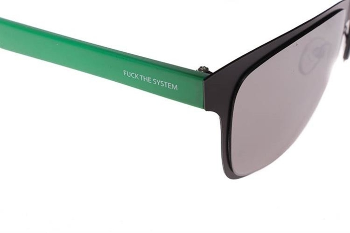 Blocx Okulary Newage Green Mirror Silver #26