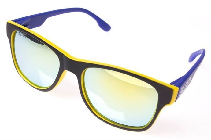 Blocx Okulary Slim FTS Yellow X Blue #49