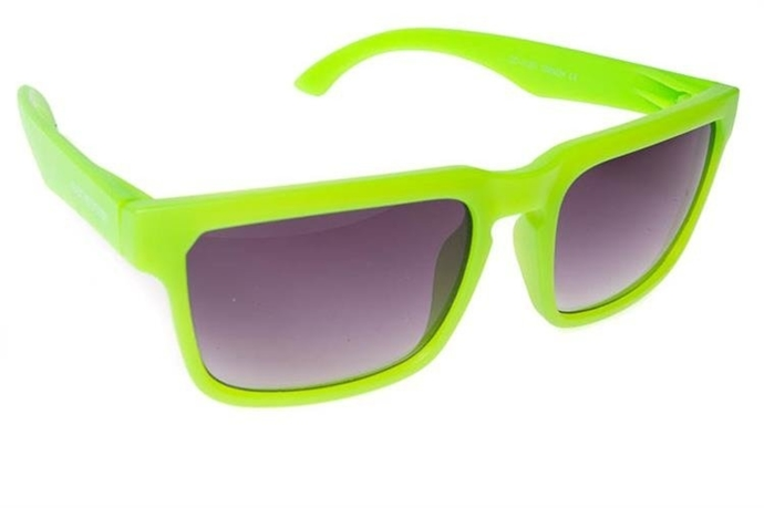 Blocx Okulary Square Neon Green #09