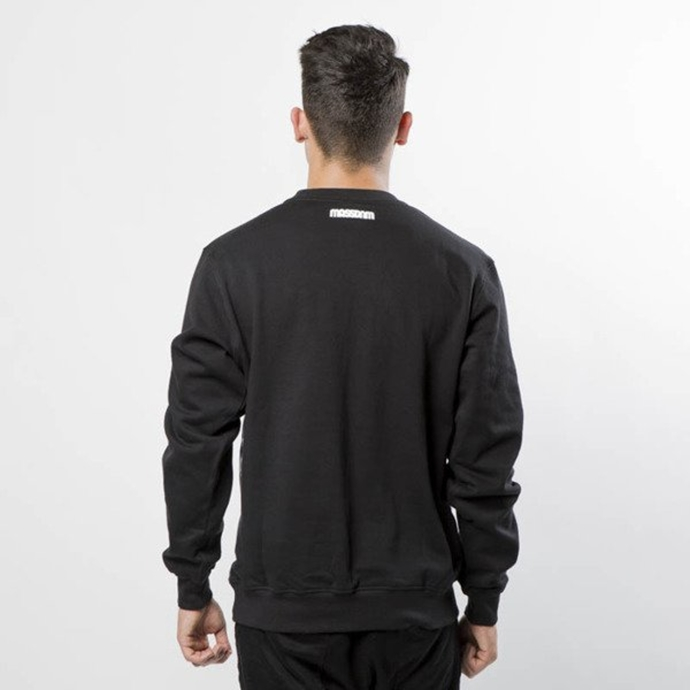 Bluza Mass Denim crewneck Who Shot Ya ? black