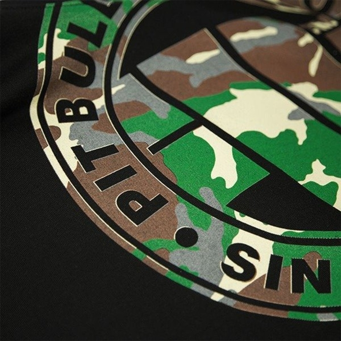 Bluza Pitbull URBAN CAMO bez kaptura black