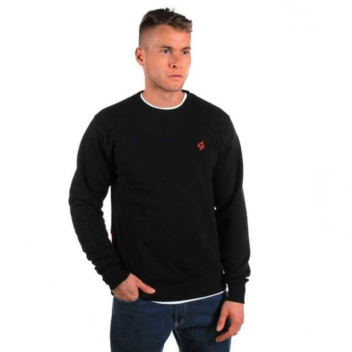 Bluza Prosto bez kaptura Basic Backlip black