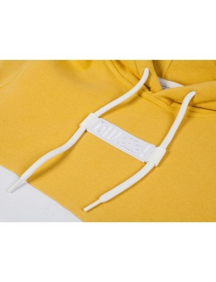 Bluza z kapturem Diil Kangurka Sleepy hoodie yellow/navy
