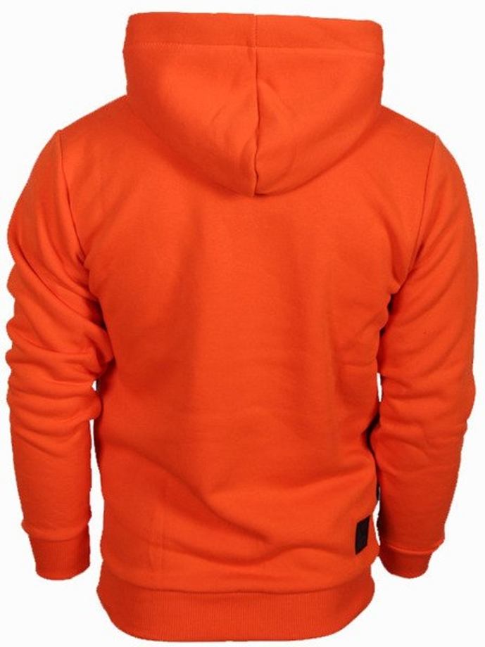 Bluza z kapturem El Polako 3EP Cut hoody orange