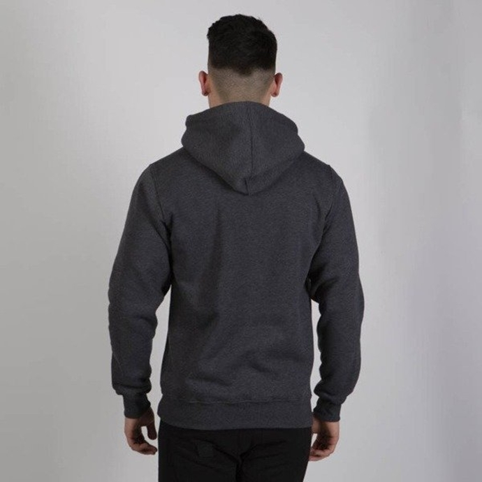 Bluza z kapturem Mass Dnm Big Box dark grey