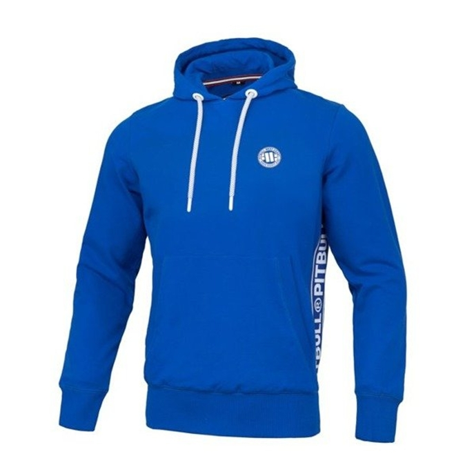 Bluza z kapturem Pit Bull French Terry Small Logo hooded royal blue