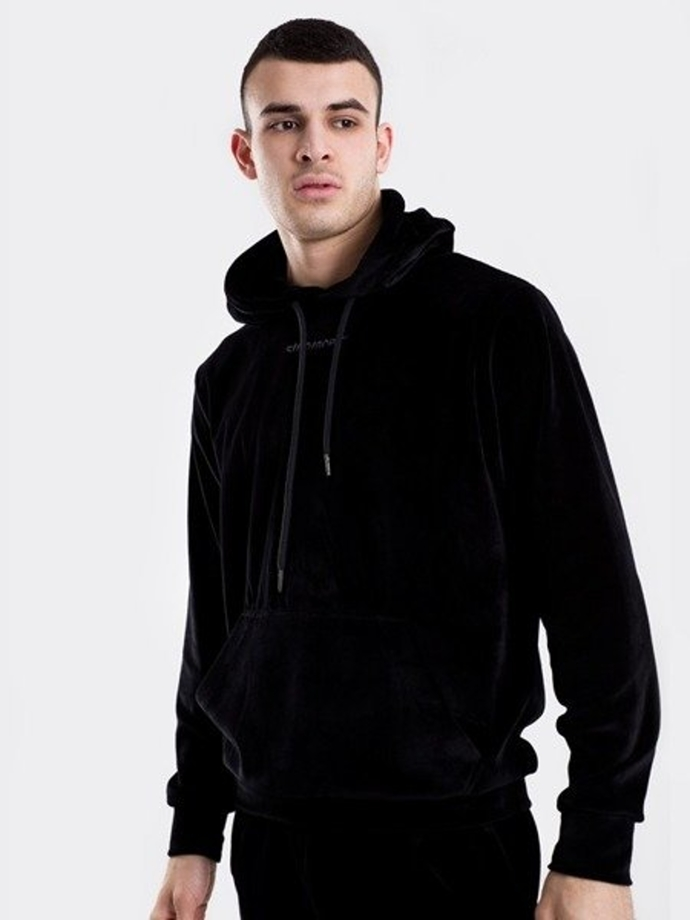 Bluza z kapturem Stoprocent Terry hoody black