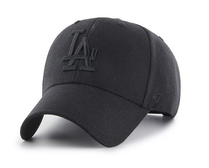 Czapka z daszkiem 47 Brand MLB Los Angeles Dodgers black
