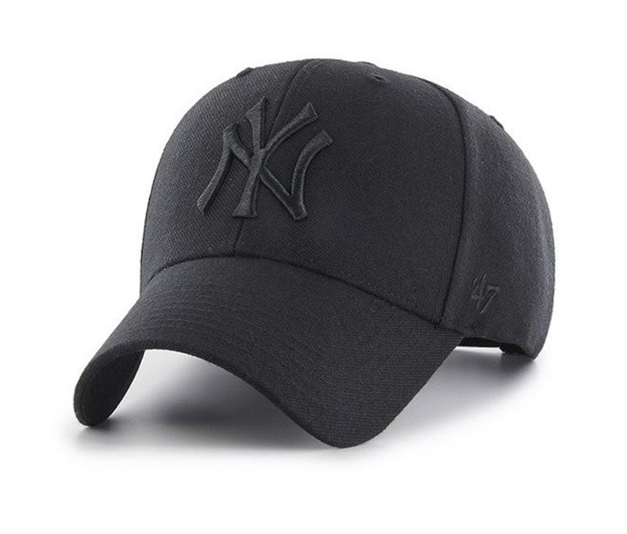 Czapka z daszkiem 47 Brand MLB New York Yankees black