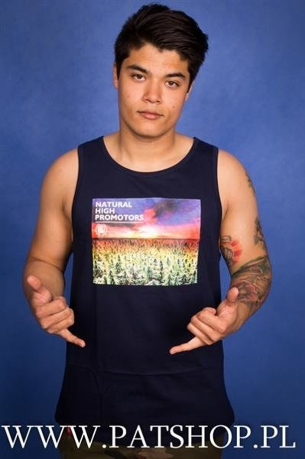 Diil TankTop Natural High Promotors Granatowy