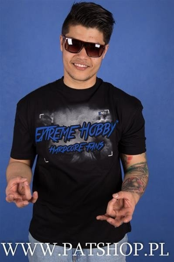 Extreme Hobby T-shirt Hardcore Fans Black Blue