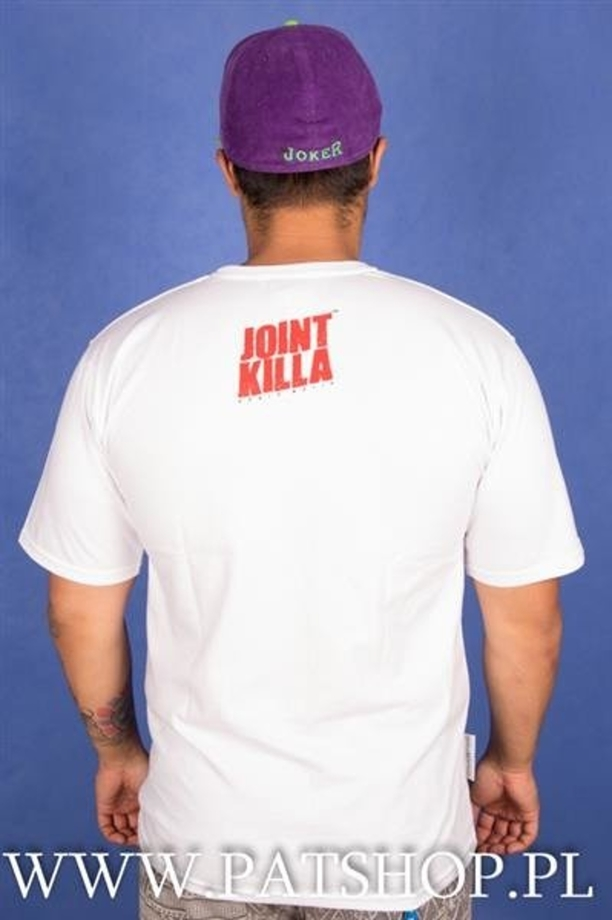 Ganja Mafia T-shirt Joint Killa White Red