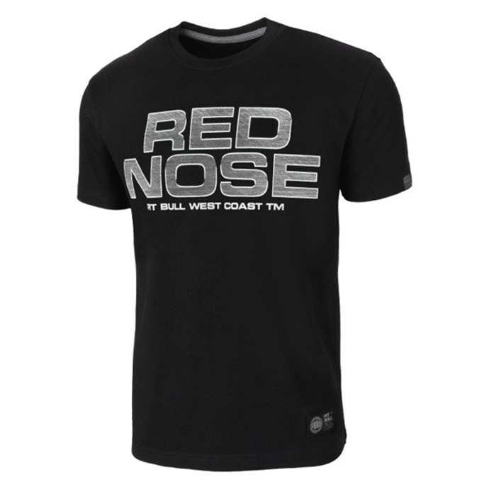 Koszulka T-Shirt Pit Bull Red Nose'18 black