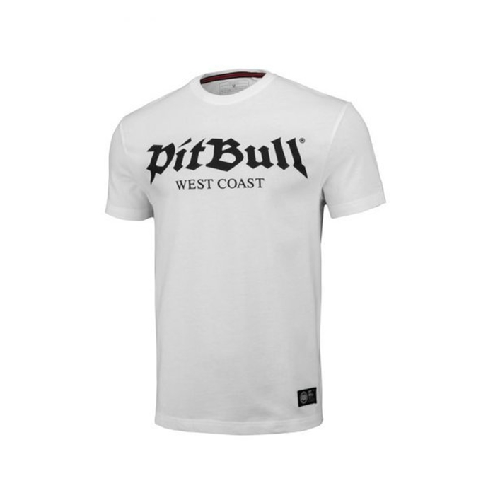 Koszulka T-Shirt Pit Bull Regular Fit 210 Old Logo white