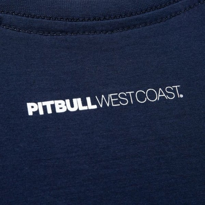Koszulka T-Shirt Pit Bull Small Logo dark navy