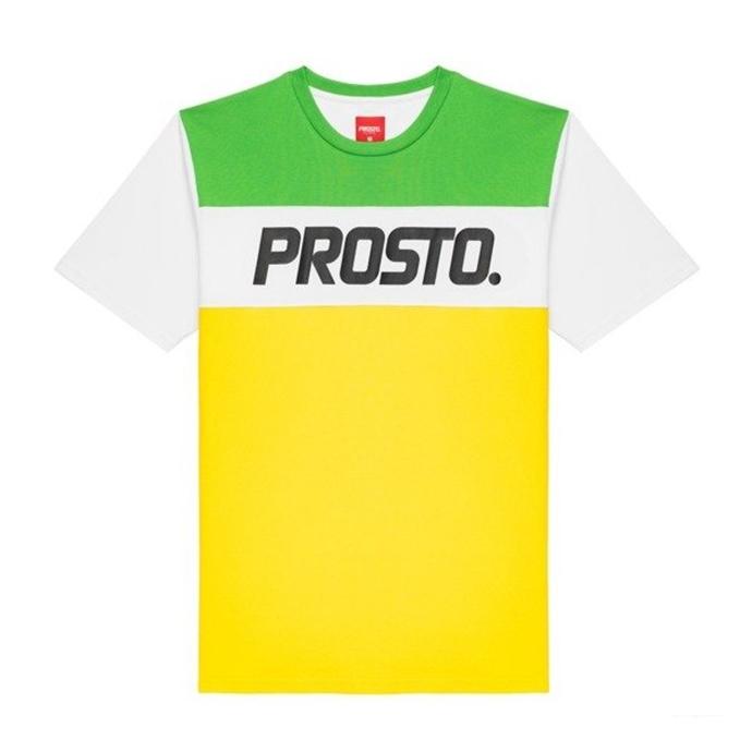 babff50e6e4b7 Koszulka T-Shirt Prosto Klasyk XXX II yellow/green