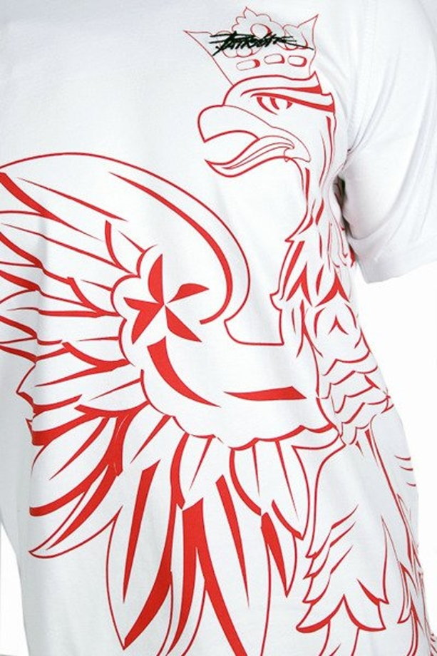 Koszulka T-shirt Patriotic Eagle Shadow white