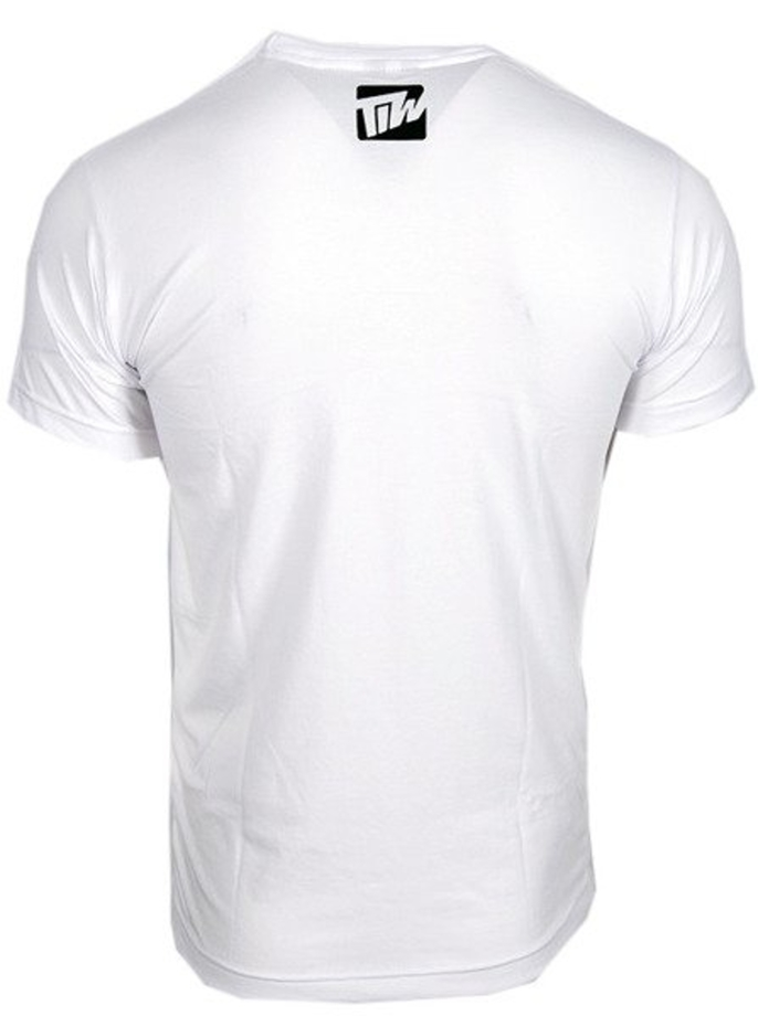 Koszulka T-shirt TiW Wear Stripes white