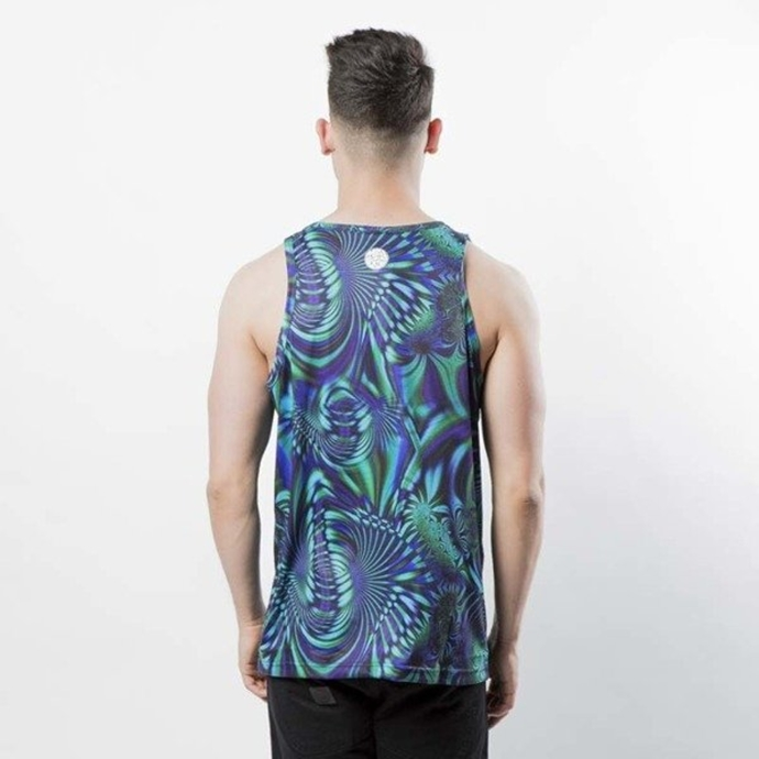 Koszulka Tank Top Mass Dnm Galaxy multicolor