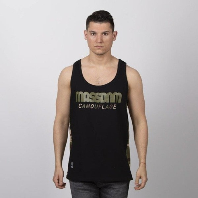 Koszulka Tank Top Mass Dnm Shelter black