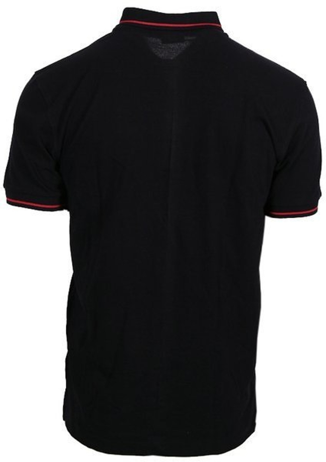 Koszulka polo Patriotic Red Shadow black