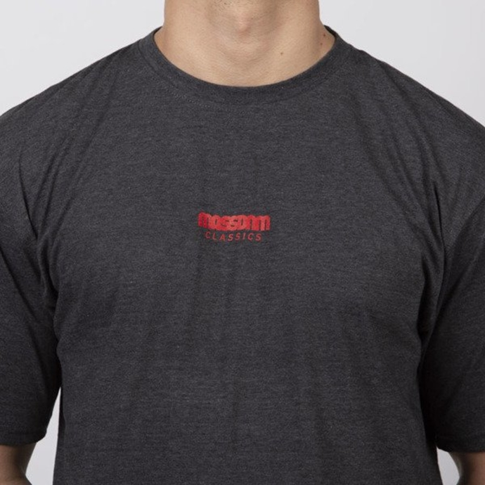 Koszulka t-shirt Mass Dnm Blockbuster dark heather grey